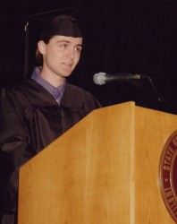 Alan Whipple Speaks at 2006 SUNY IT Graduation